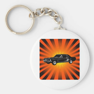 1967 Ford Mustang Coupe Keychains