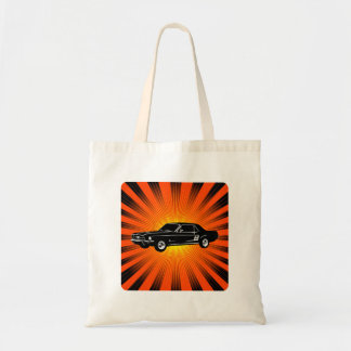 1967 Ford Mustang Coupe Budget Tote Bag