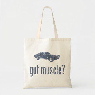 1967 Ford Mustang Fastback Canvas Bag
