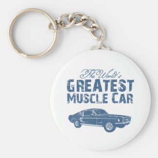 1967 Ford Mustang Fastback Keychains
