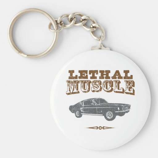 1967 Ford Mustang Fastback Keychain