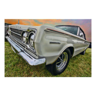 1967 Plymouth Belvedere II Poster