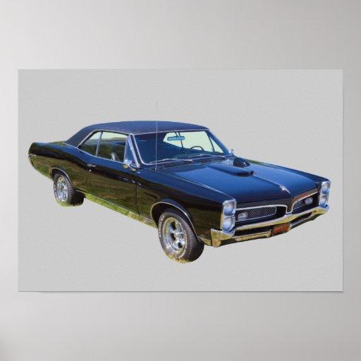 1967 Pontiac GTO Muscle Car Print