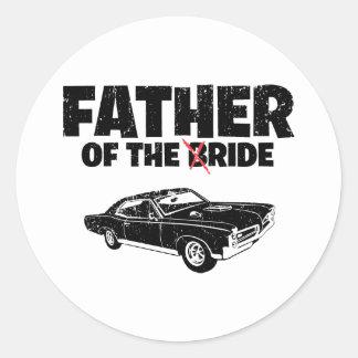 1967 Pontiac GTO Round Stickers