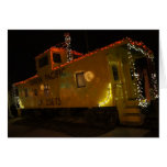 1967 Union Pacific Caboose Christmas Card (Blank)