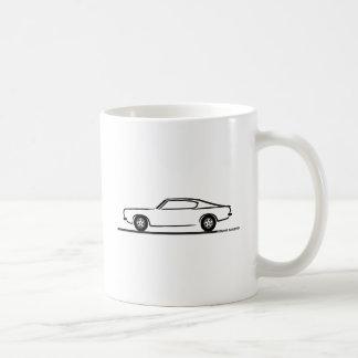 1968 1969 Plymouth Barracuda Basic White Mug