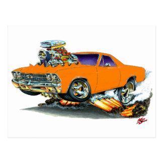 1968-69 El Camino Orange Truck Postcard