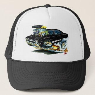 1968-69 Plymouth GTX Black Car Trucker Hat