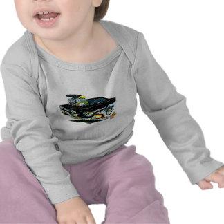 1968-69 Plymouth GTX Black Car T-shirt