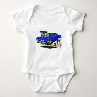 1968-69 Plymouth GTX Blue Car Baby Bodysuit