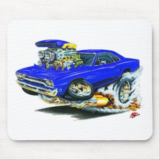 1968-69 Plymouth GTX Blue Car Mousepads