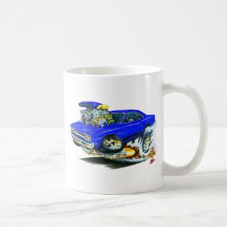 1968-69 Plymouth GTX Blue Car Coffee Mug