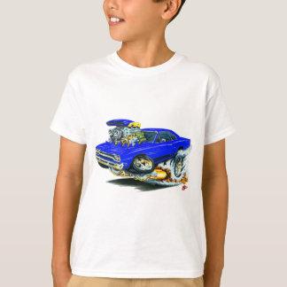 1968-69 Plymouth GTX Blue Car T Shirt