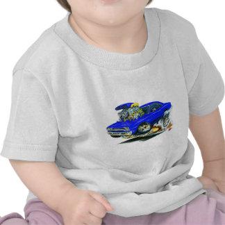1968-69 Plymouth GTX Blue Car T Shirts