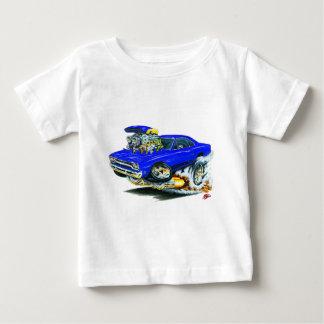 1968-69 Plymouth GTX Blue Car T-shirts