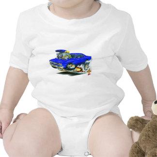1968-69 Plymouth GTX Blue Car Baby Creeper