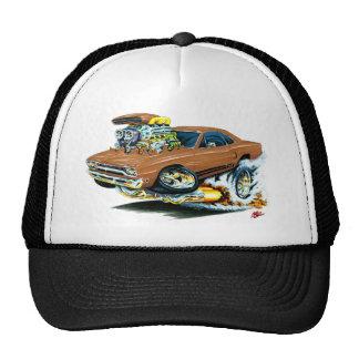 1968-69 Plymouth GTX Brown Car Mesh Hats
