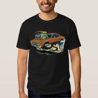 1968-69 Plymouth GTX Brown Car T-shirt