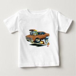 1968-69 Plymouth GTX Brown Car T-shirts