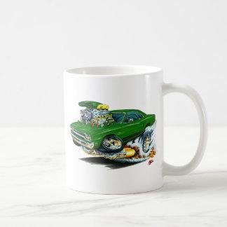 1968-69 Plymouth GTX Green Car Basic White Mug