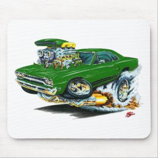 1968-69 Plymouth GTX Green Car Mousepads