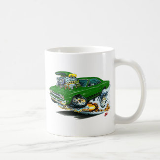 1968-69 Plymouth GTX Green Car Mug