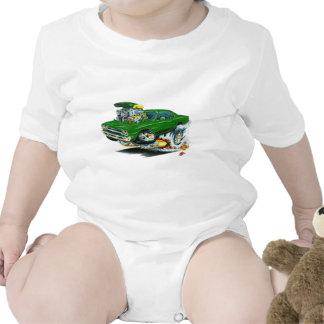 1968-69 Plymouth GTX Green Car Shirts
