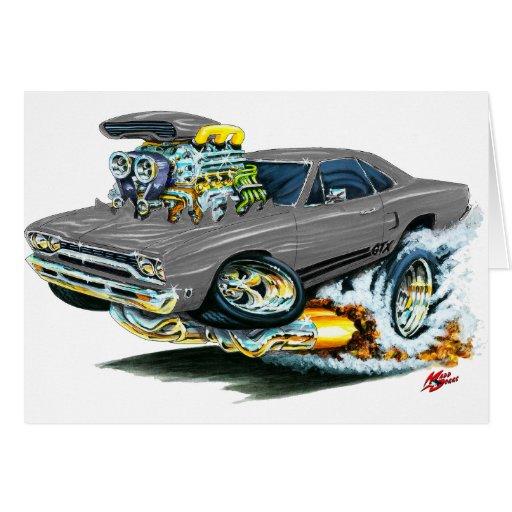 1968-69 Plymouth GTX Grey Car Cards