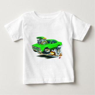 1968-69 Plymouth GTX Lime Car Baby T-Shirt