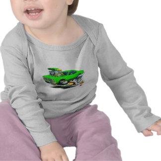 1968-69 Plymouth GTX Lime Car T-shirt