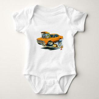 1968-69 Plymouth GTX Orange Car Baby Bodysuit