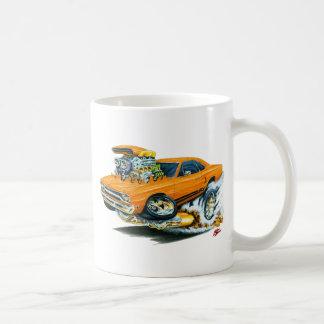 1968-69 Plymouth GTX Orange Car Basic White Mug