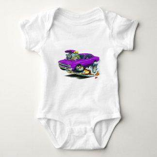 1968-69 Plymouth GTX Purple Car Infant Creeper