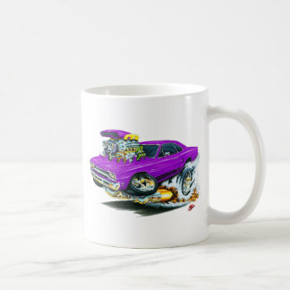 1968-69 Plymouth GTX Purple Car Coffee Mug