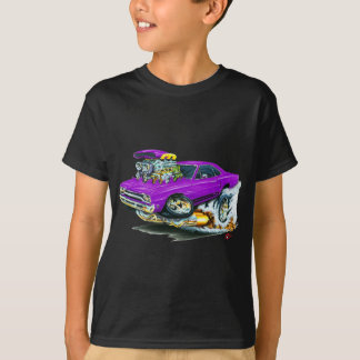 1968-69 Plymouth GTX Purple Car T-Shirt