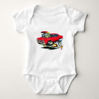 1968-69 Plymouth GTX Red Car Baby Bodysuit