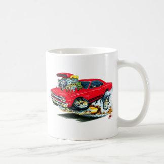 1968-69 Plymouth GTX Red Car Basic White Mug