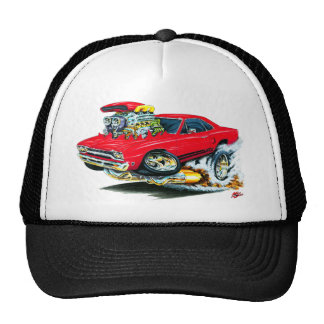 1968-69 Plymouth GTX Red Car Hat