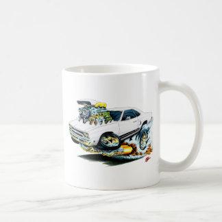 1968-69 Plymouth GTX White Car Mugs