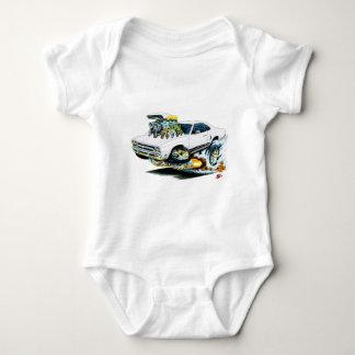 1968-69 Plymouth GTX White Car T-shirts