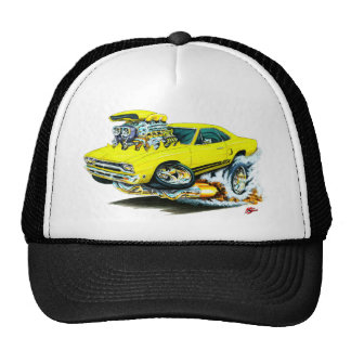 1968-69 Plymouth GTX Yellow Car Hat