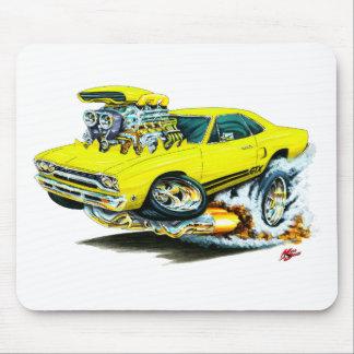 1968-69 Plymouth GTX Yellow Car Mousepads