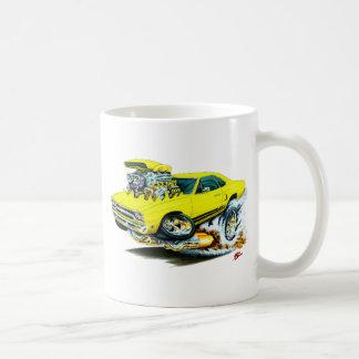 1968-69 Plymouth GTX Yellow Car Mugs