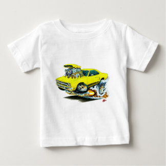 1968-69 Plymouth GTX Yellow Car T Shirts
