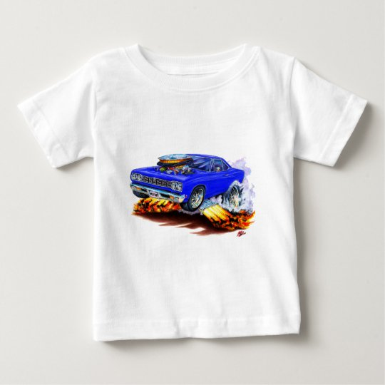 1968-69 Roadrunner Blue Car Baby T-Shirt