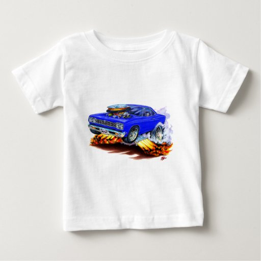 1968-69 Roadrunner Blue Car Tee Shirt