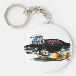 1968-70 Nova Black Car Key Ring