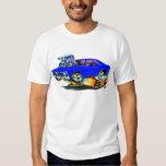 1968-70 Nova Blue Car T-shirts