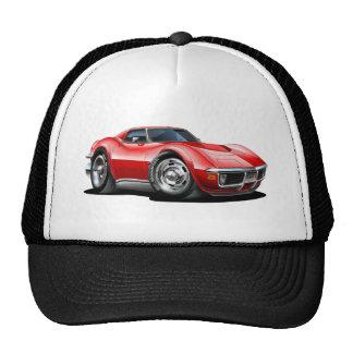 1968-72 Corvette Red Car Mesh Hat