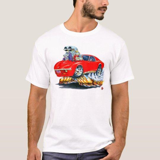 1968-72 Corvette Red Car T-Shirt